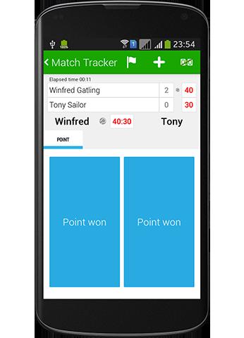 Tennis Math - Pro score and statistics tracker
